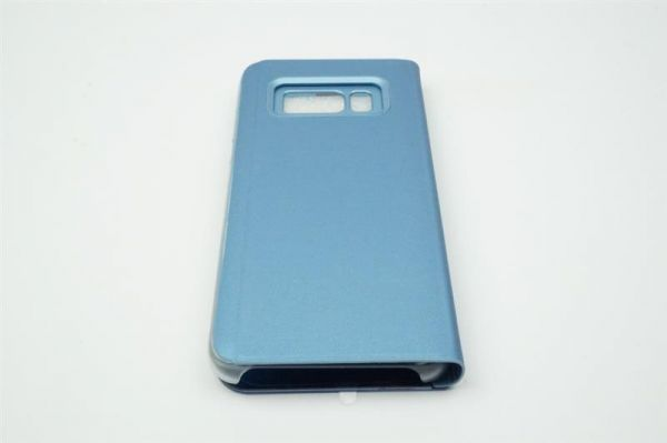 handyh lle samsung galaxy s7 edge clear view standing blau cover schutzh lle ebay. Black Bedroom Furniture Sets. Home Design Ideas