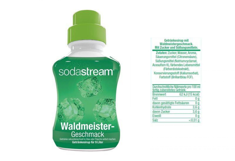 13,31€/L) Sodastream Sirup Getränkesirup Sprudel selber mache ...
