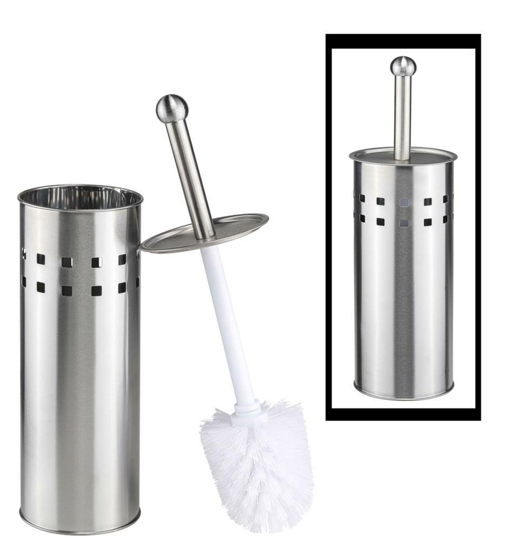 Klobürste WC Bürste Klobürstenhalter Garnitur Bürstengarnitur Edelstahl Toilette