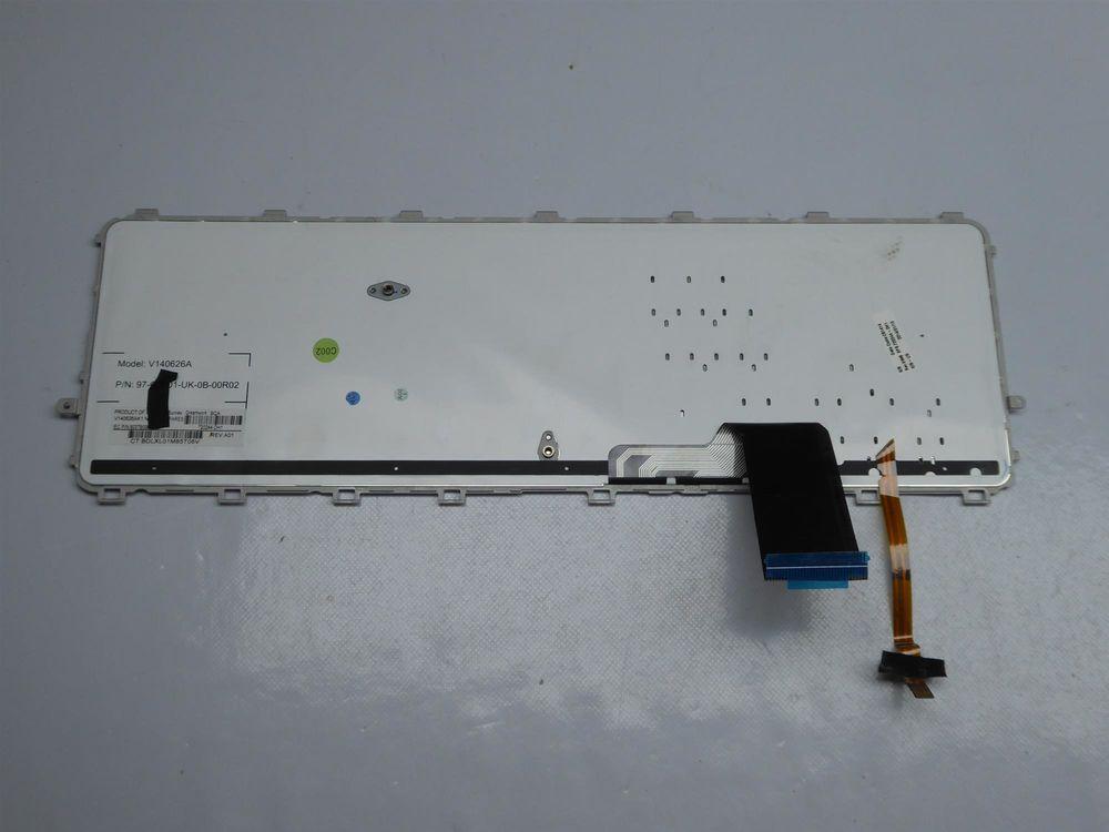 New For HP ENVY 17-k101no 17-k102no 17-k170no 17-k230no Keyboard Nordic Backlit