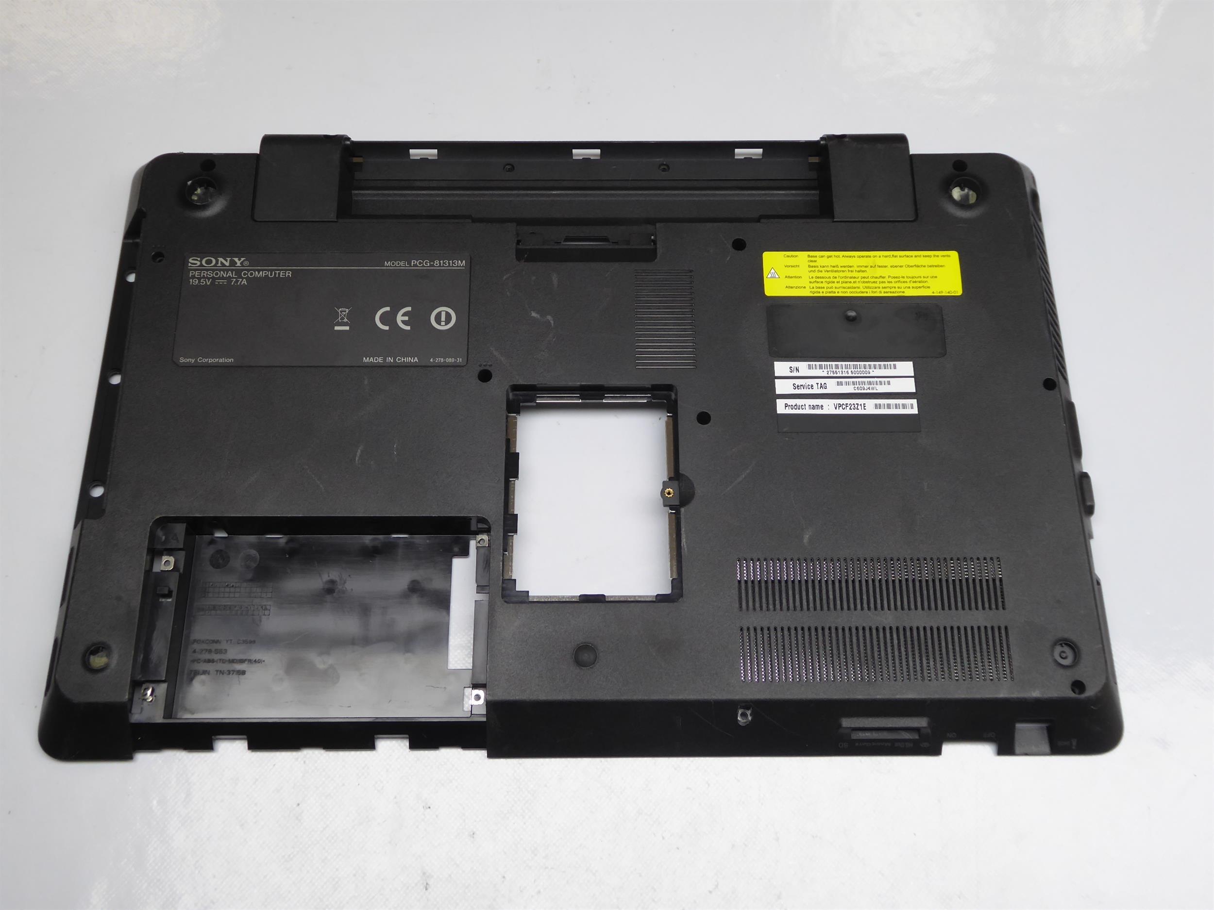 Sony-PCG-81313M-Gehaeuse-Unterteil-Schale-012-000A-6508-B-3893