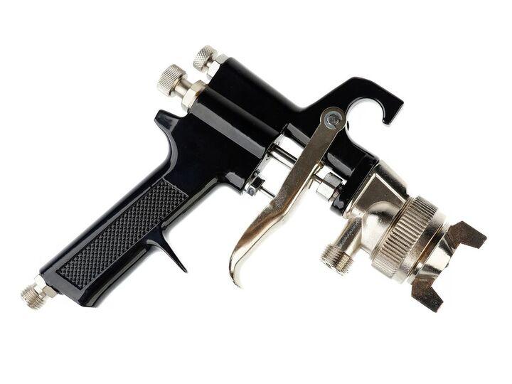 Geko 8L Drucklackierbeh/älter Lackiertank Spritzpistole Druckluft Set Druckluftpistole