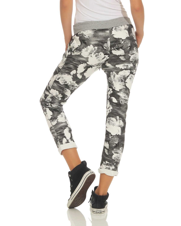 5b8234f25acd5 Damen Sweatpants Freizeithose Sport Hose viele Muster Jogginghose ...