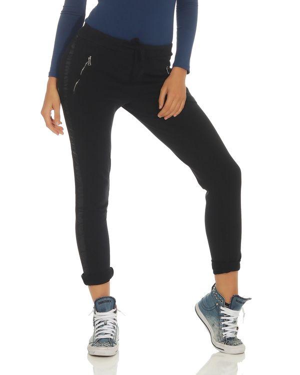 2 x Damen Leggings lang Baumwolle Damenhose Freizeithose Sporthose Hose casual
