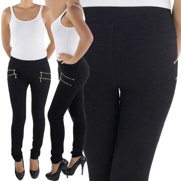 Legging leggins jeggins Jeggings Tregging tissu Hanche Tubes Stretch Pantalon Sport
