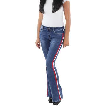 Kleidung & Accessoires SOTALA Damen Jeans Stretch Hüft Hose