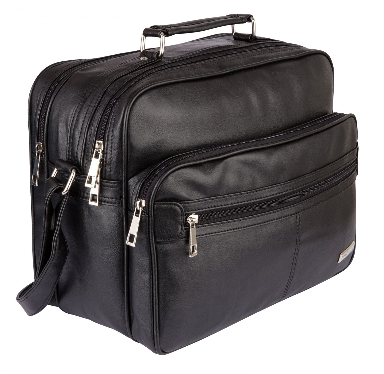 XL Herren Tasche Umhängetasche Schultertasche Flugbegleiter Arbeitstasche Canvas
