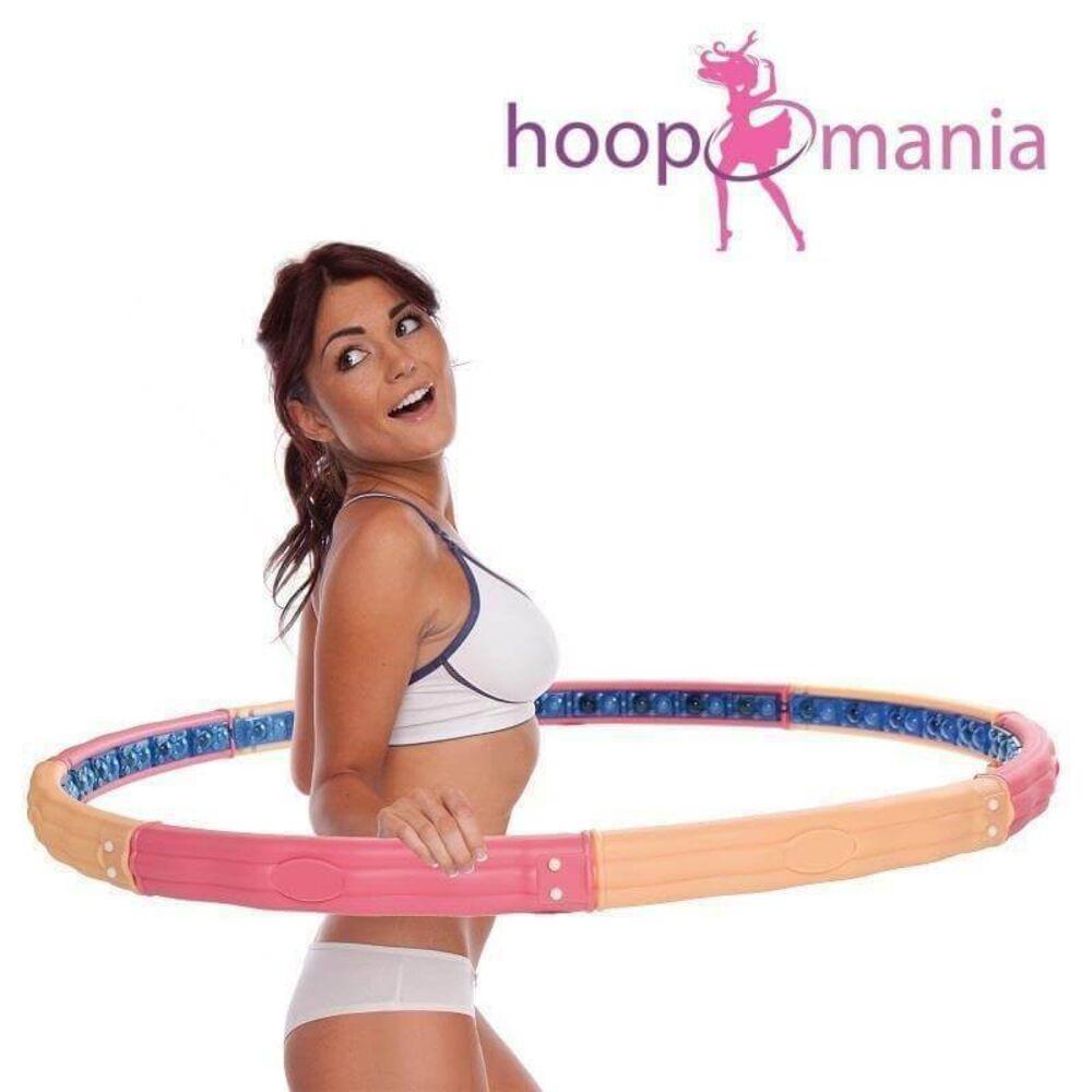 Hoopomania Action Hoop Hula Hoop avec 48 aimants 1.6kg
