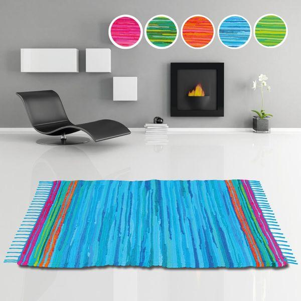 teppich l ufer fleckerlteppich flickenteppich fransenteppich wohnzimmer vorleger ebay. Black Bedroom Furniture Sets. Home Design Ideas