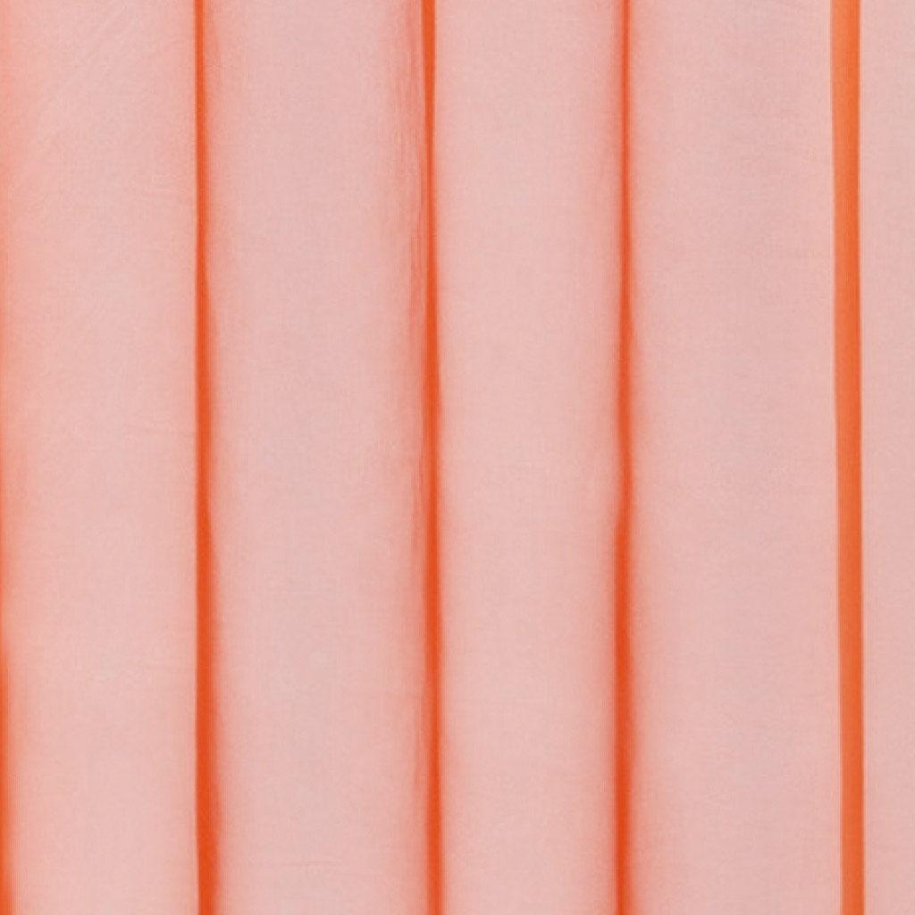 Gardine mit Ösen, Transparent Voile, Uni Ösenschal Vorhang viele Größen / Farben