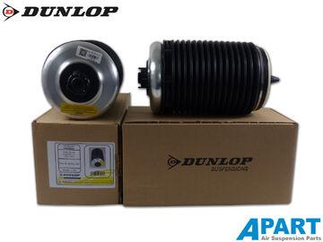 2x Dunlop Luftfeder Audi A6 C6 Allroad Luftfederbalg 4F0616001J Hinterachse