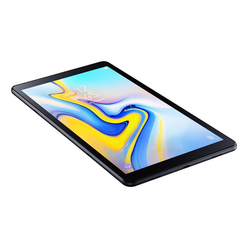 samsung galaxy tab a 2018 32gb wi fi android tablet 10 5 zoll display schwarz ebay. Black Bedroom Furniture Sets. Home Design Ideas