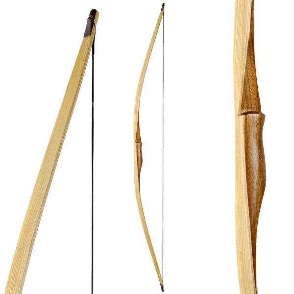 Sehne 25-60 lbs inkl Langbogen Longbow Bogenschießen RAGIM Wolf Custom
