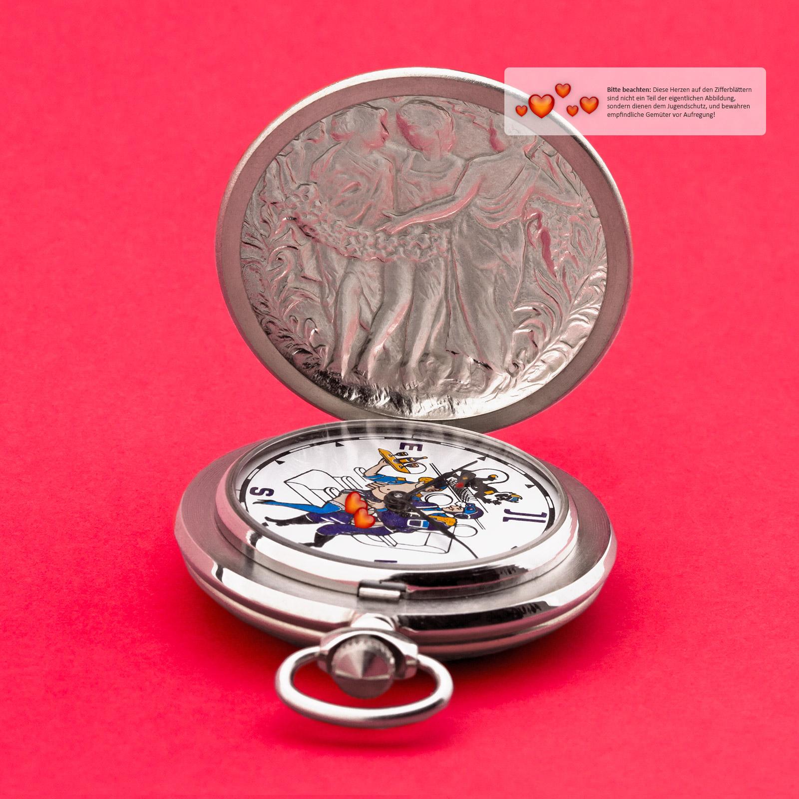 EROTIK-Taschenuhr-sexspielzeug-Pilot-Husar-Piano-mechanische-Uhr-3602-MOLNIJA-JL Indexbild 14