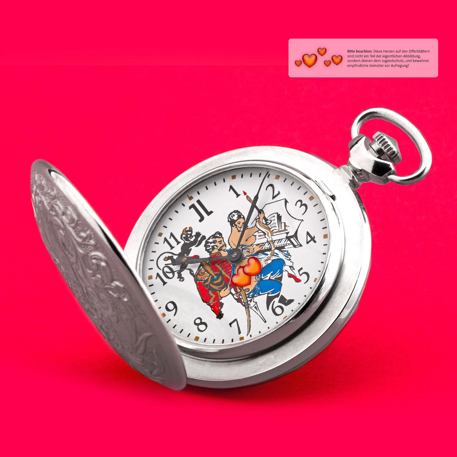 EROTIK-Taschenuhr-sexspielzeug-Pilot-Husar-Piano-mechanische-Uhr-3602-MOLNIJA-JL Indexbild 29