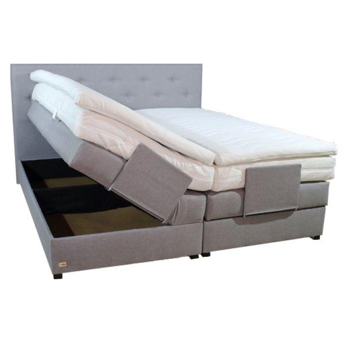 boxspringbett mit bettkasten taschenfederkern 160x200 farbwahl matratze h2 h3 h4 ebay. Black Bedroom Furniture Sets. Home Design Ideas