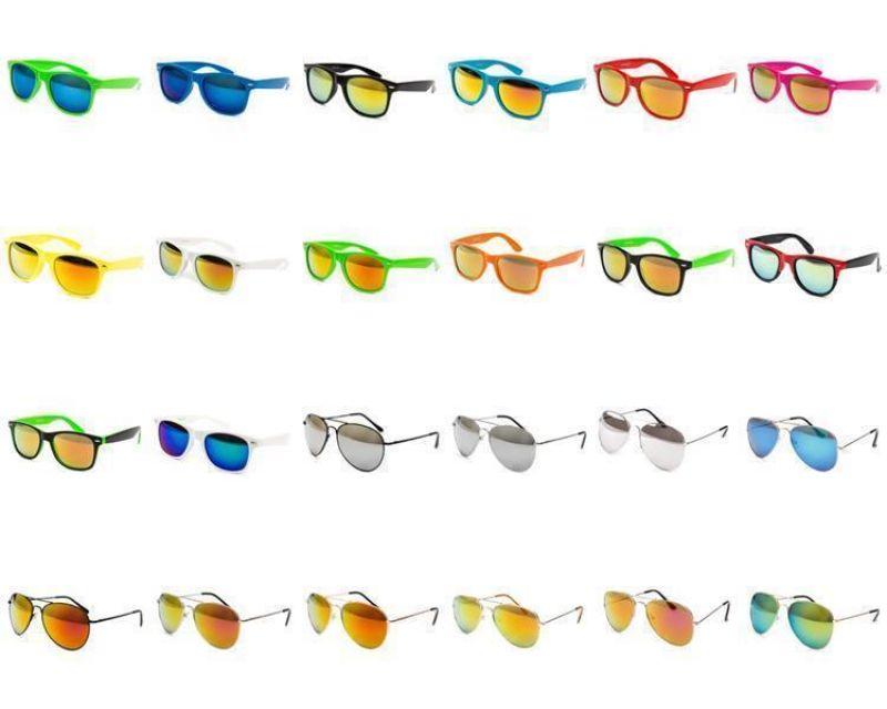 50 Stück Sonnenbrillen Brille Party Nerdbrille Billige Günstig Nerd 2 Wahl 7fNryNGI