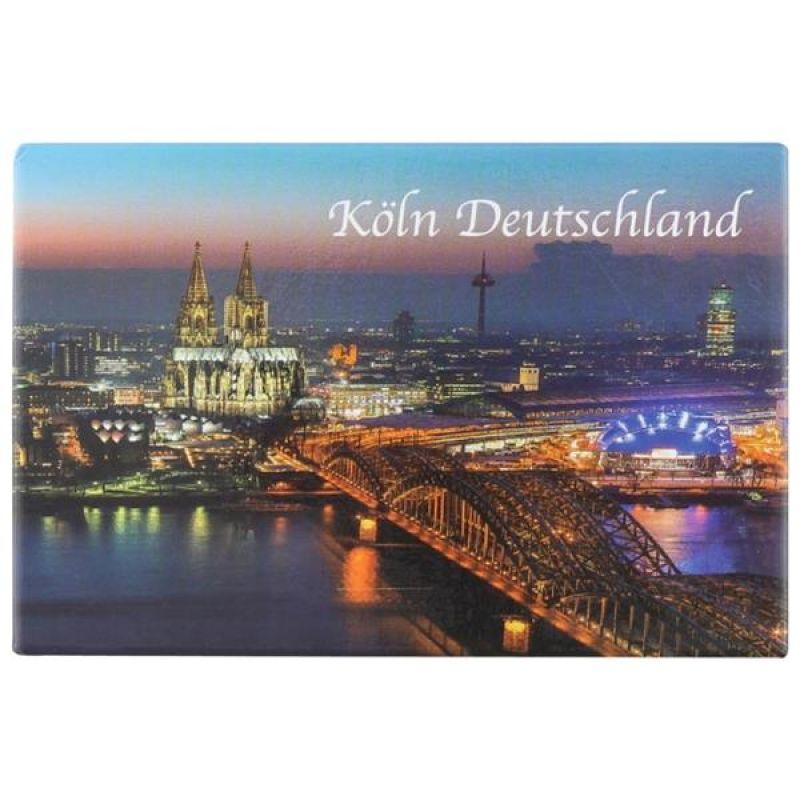 Köln am Rhein - Magnet Deutschland Kühlschrank Deko Fotograf Cologne ...