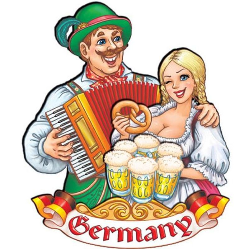 10 er Set Deutschland Karte Handbemalt Kühlschrank Magnet Made in Europa Germany