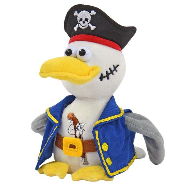 Möwe Malwin 3 tlg Affe Jack NEU Piraten Set Labertiere Pirat Papagei Parry