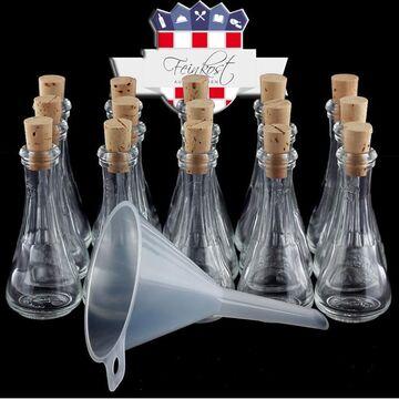BOUCHON 20 verres cokanji Julischka sljivovica fraklic Croatie 2 cl 1 entonnoir