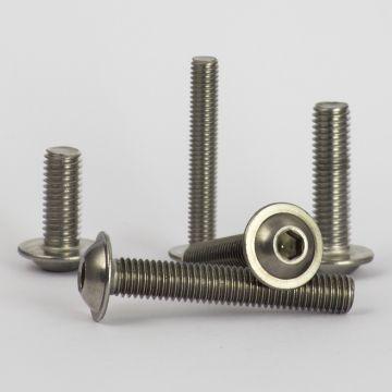 Langschlitzschrauben Flachkopf Schrauben 20 St/ück FASTON/® Flachkopfschrauben mit Schlitz M4x10 DIN 85 aus rostfreiem Edelstahl A2 V2A