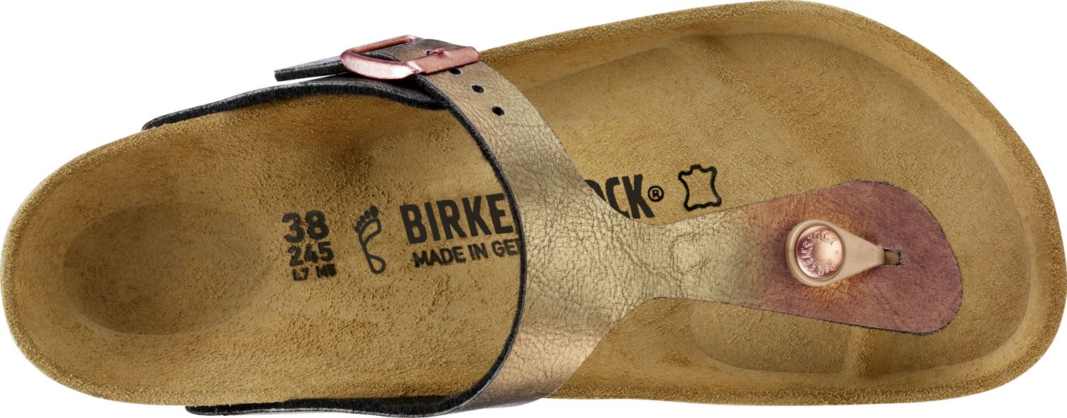 Birkenstock-Gizeh-Birko-Flor-Womens-Shoes-Slides-Sandals-anatomical-footbed-NEW thumbnail 10