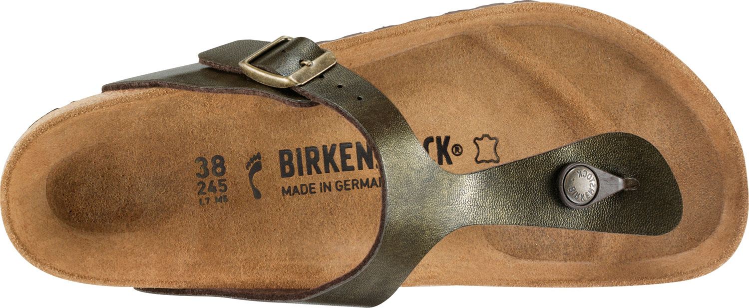 Birkenstock-Gizeh-Birko-Flor-Womens-Shoes-Slides-Sandals-anatomical-footbed-NEW thumbnail 26