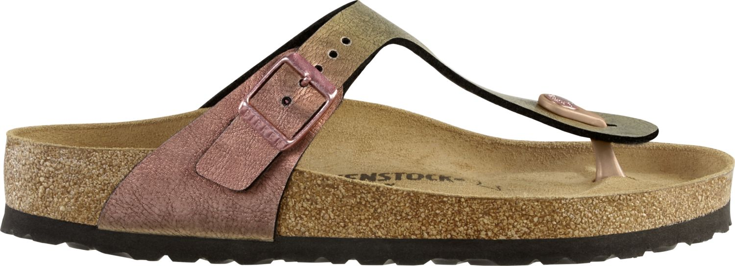 Birkenstock-Gizeh-Birko-Flor-Womens-Shoes-Slides-Sandals-anatomical-footbed-NEW thumbnail 9