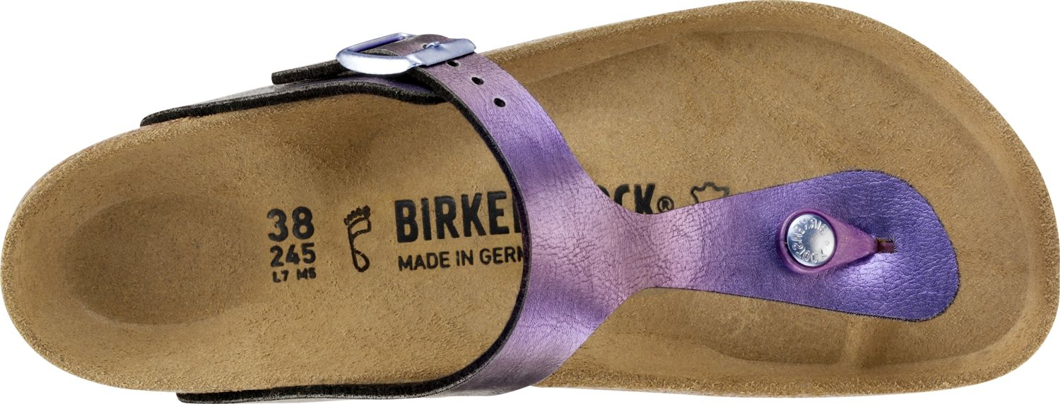 Birkenstock-Gizeh-Birko-Flor-Womens-Shoes-Slides-Sandals-anatomical-footbed-NEW thumbnail 13