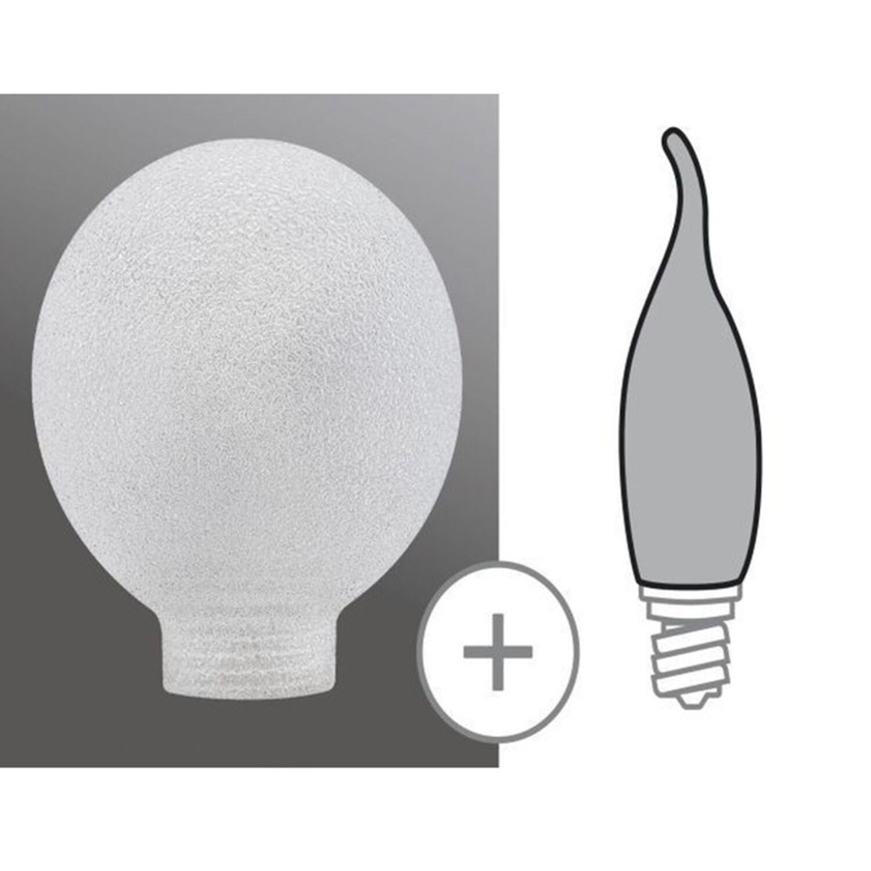 870.09 Paulmann Leuchtmittel Zubehör Glas PAR30 Minihalogen Silber//Klar