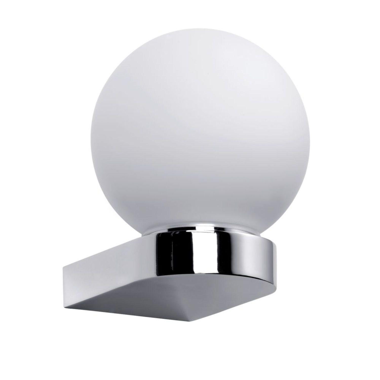 Wandleuchte Deckenleuchte chrom Energiesparlampe G5 IP44 Metall