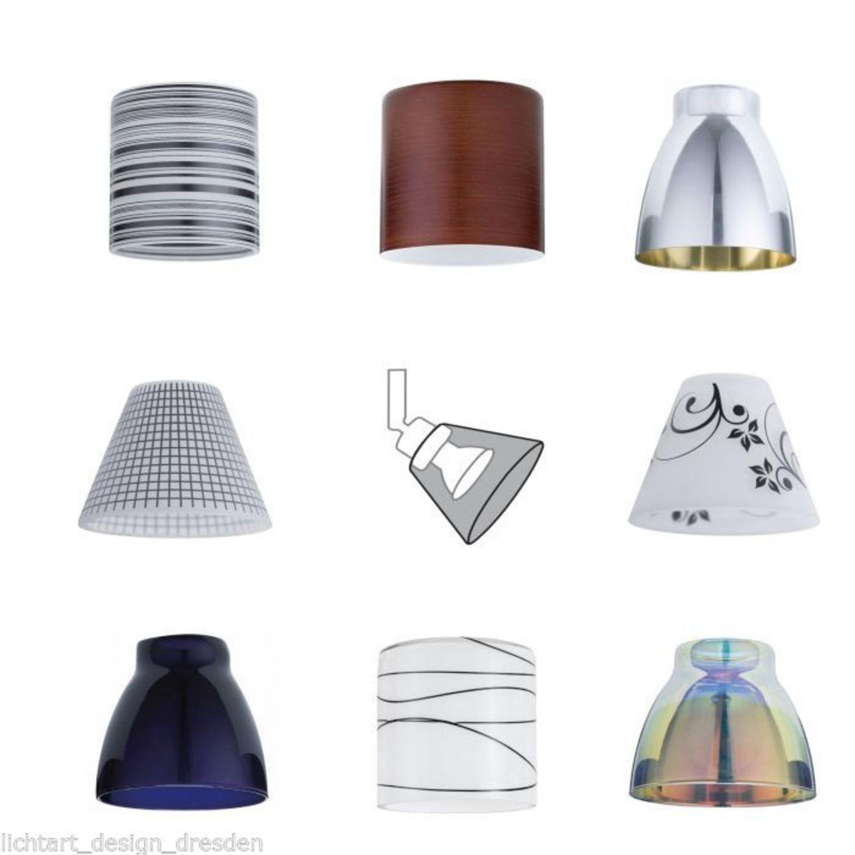DecoSystems PAULMANN   VERSCHIEDENE DEKO SCHIRME GLAS Max.50W LAMPEN  GÜNSTIGER
