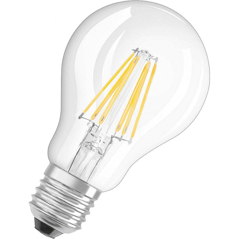 Nice Price 3963 LED Globe Tropfen Filament 6W E27 warmweiß 2700K Leuchtmittel