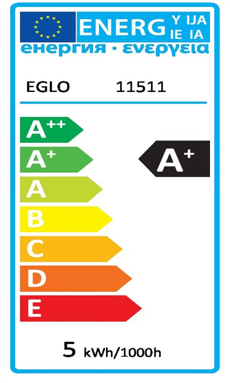 EGLO 11511 LED Spot COB 5W GU10 Warmweiß Sparlampe Leuchtmittel Licht Weiß 230V