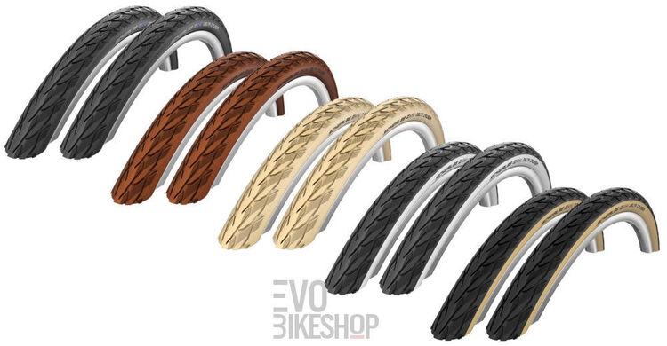 Schwalbe Fahrradreifen Delta Cruiser HS 431 28-622 28x1,10 700x28C schwarz//wei