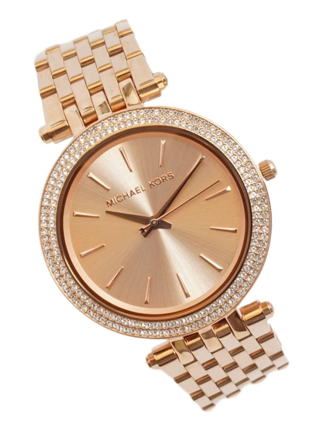 Michael Kors Mesdames Bracelet montre Darci analogique quartz MK3192 inox  Rosé or nouveau * prix de vente conseillé de 249