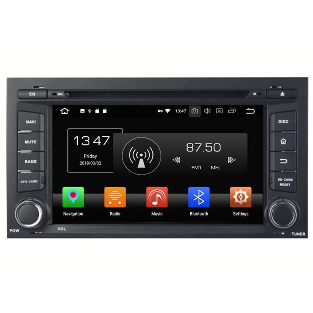 seat leon car radio android touch screen gps 3d navigation. Black Bedroom Furniture Sets. Home Design Ideas