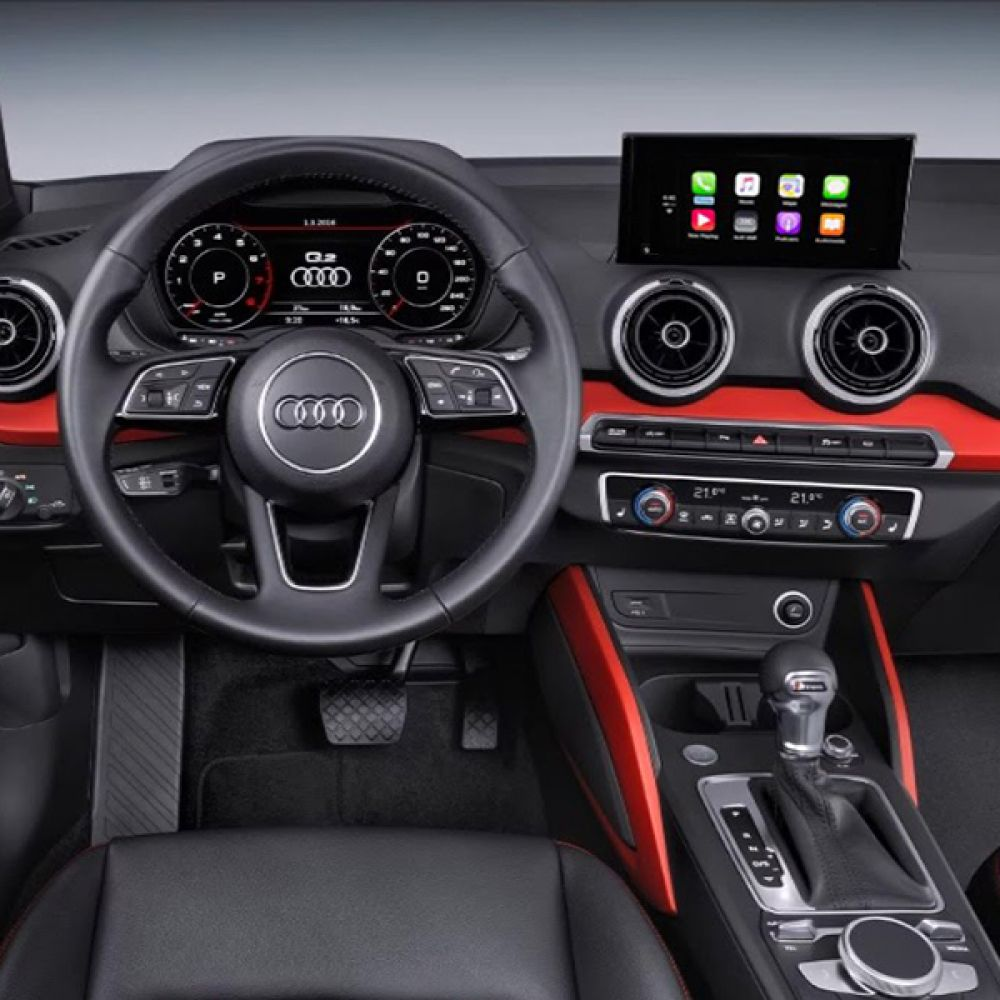 audi a3 a4 q2 q5 mmi 3g 4g 7 touchscreen navigation gps sd usb media interface ebay. Black Bedroom Furniture Sets. Home Design Ideas