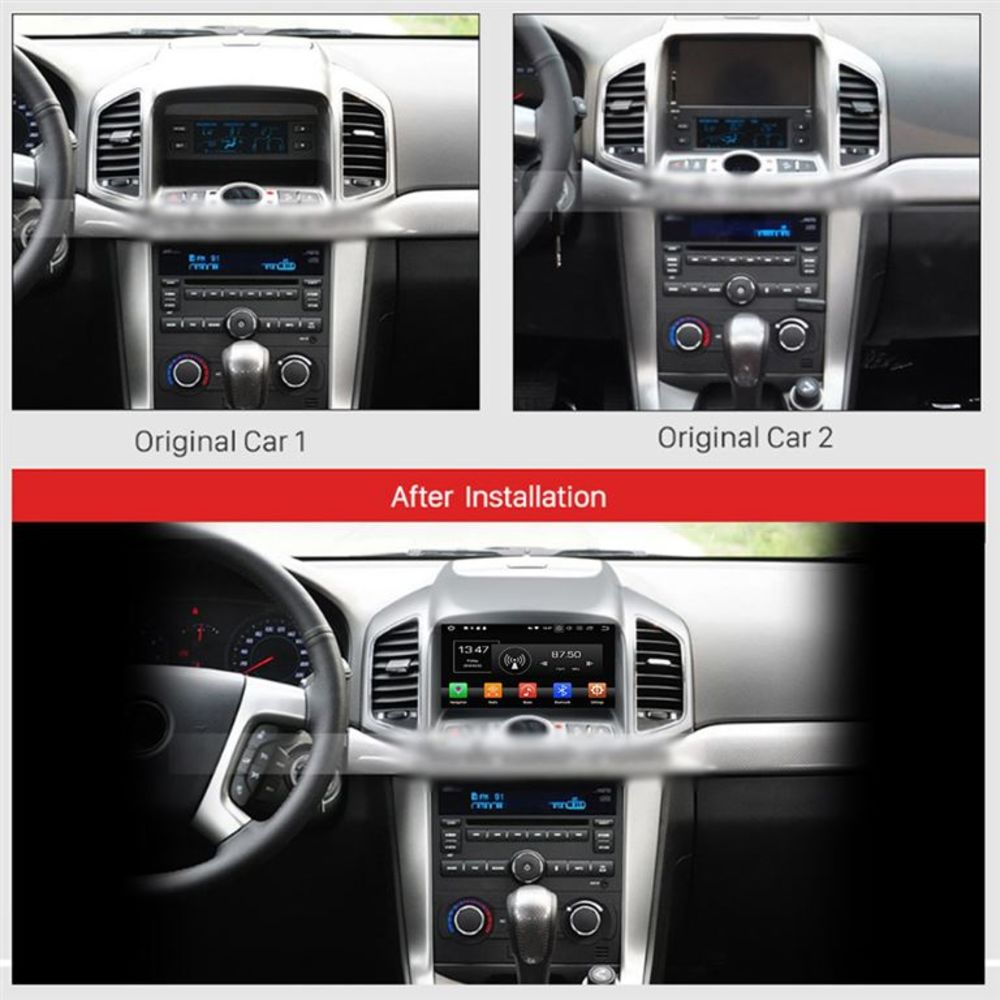 chevrolet captiva android 8 autoradio navi touchscreen dvd bluetooth usb wifi sd ebay. Black Bedroom Furniture Sets. Home Design Ideas