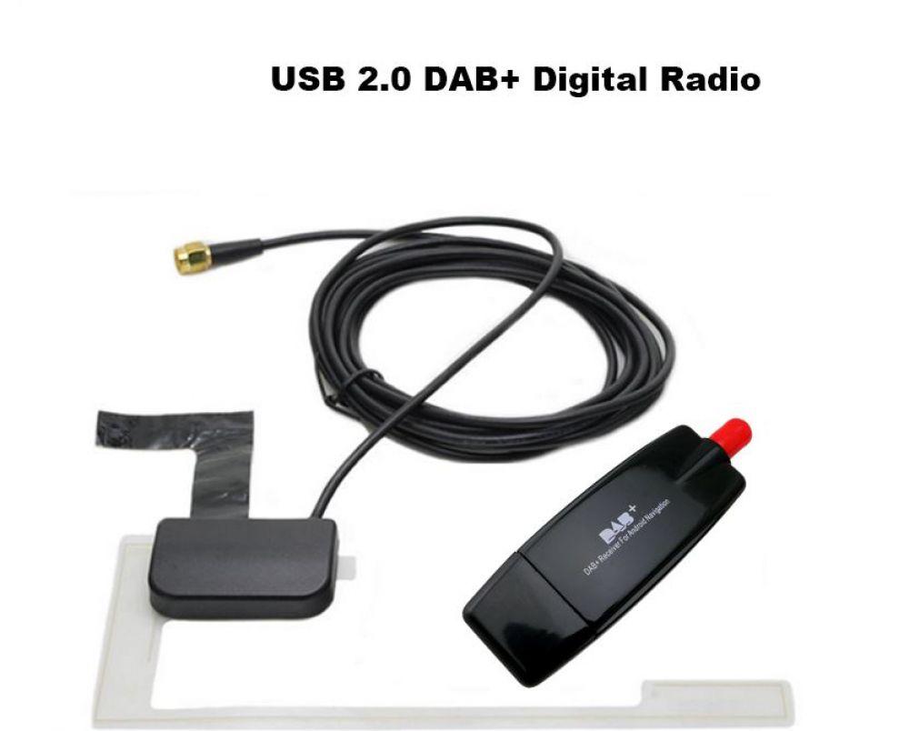universal usb dab tuner antenne digital radio empf nger. Black Bedroom Furniture Sets. Home Design Ideas