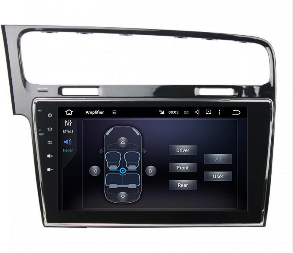 volkswagen golf7 mk7 android autoradio digital radio dab. Black Bedroom Furniture Sets. Home Design Ideas