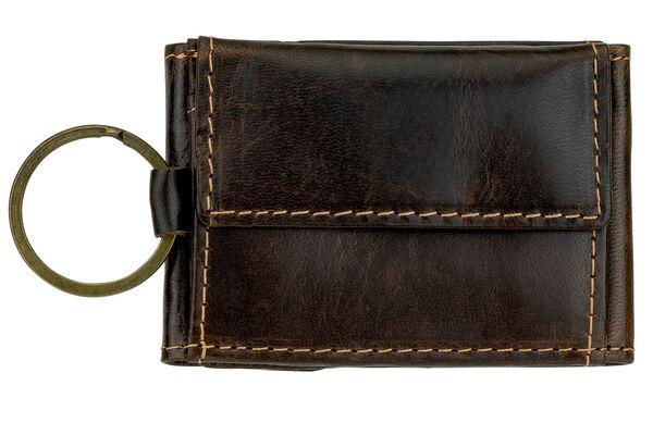 Mini Schlüsselanhänger Geldbörse Wild Things Only Schlüsselmäppchen braun