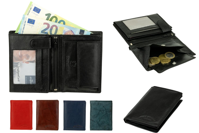 Bag Street Leder Herren Geldbörse Geldbeutel Portemonnaie Brieftasche