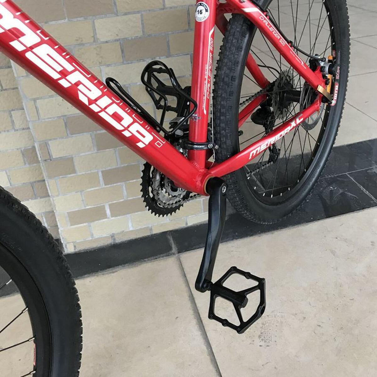 "Fahrrad Pedale Aluminium Stahl 9//16/"" Anti-Rutsch MTB Rennrad e-Bike City-Rad S"