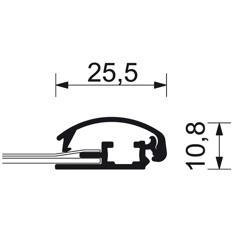 Klapprahmen DIN A4 Plakatrahmen Posterrahmen Wechselrahmen 25 mm ...
