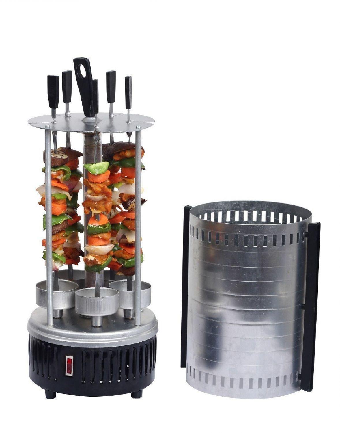 GRILL ELETTRICO vangaloo tavola Grill Elettrico Kebab KEBAB-rotazione