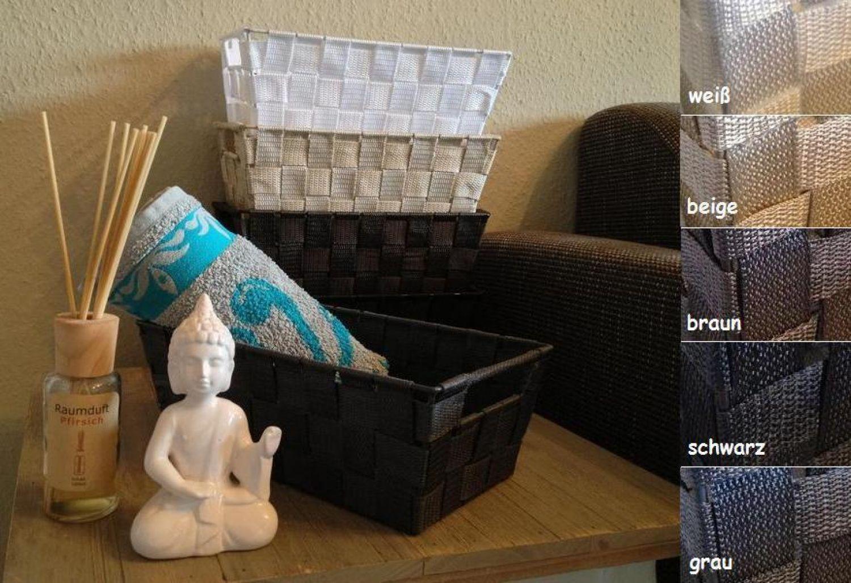 Panier pour salle de bain maille en plastique corbeille rangement cuisine ebay - Panier rangement cuisine ...