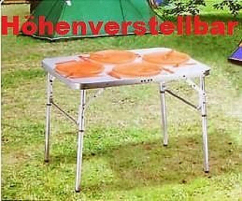 réglable en hauteur Camping Table Pliante de Balcon jardin | eBay