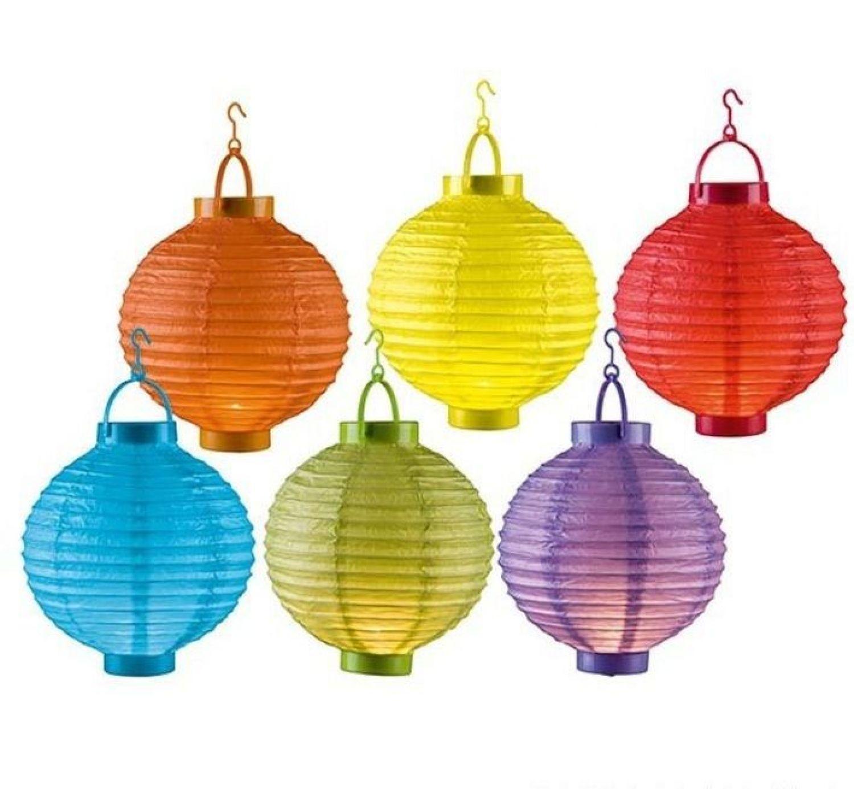 30pcs LED Lichter für Lampions Papierlaternen Party Lampen Deko Feier Ballon Set